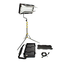 Lowel Caselite4 Fluorescent Daylight Kit with Light, Stand, Bulbs & Accessories