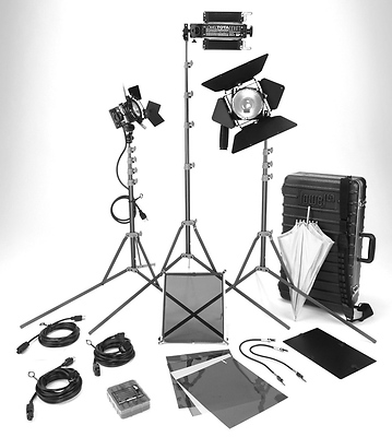 DV Creator 1 Video Lighting Location Kit with GO-85 Case Image 0