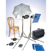 Lowel TO GO 95 Tungsten Flood 2 Light Kit with T1-82 Tube Case