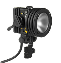 Lowel ID-Light 100 Watt Focus Flood Light with 4 Pin XLR Connector, Bulbs, Mounts