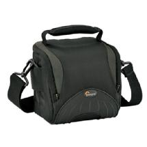 Lowepro Apex 110 AW Shoulder Bag for Digital SLR Camera with Lens Attached plus Accessories (Black)