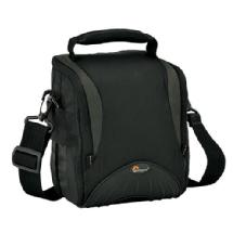 Lowepro Apex 120 AW Shoulder Bag for Digital SLR Camera with Lens Attached plus Accessories (Black)