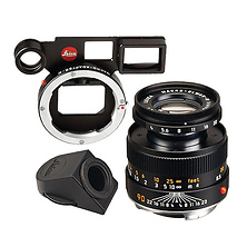 90mm f/4 Macro-Elmar Lens Set (6-Bit, Black) Image 0