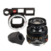Leica 90mm f/4 Macro-Elmar Lens Set (6-Bit, Black)