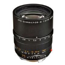 Leica 75mm f/2.0 APO Summicron M Aspherical Manual Focus Lens