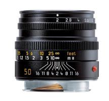 Leica 50mm f/2.0 Summicron M Manual Focus Lens (Black)