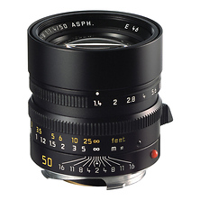 50mm f/1.4 Summilux M Aspherical Manual Focus Lens (Black) Image 0