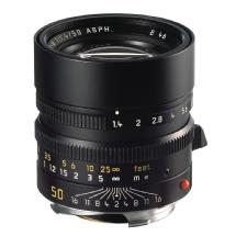 Leica 50mm f/1.4 Summilux M Aspherical Manual Focus Lens (Black)