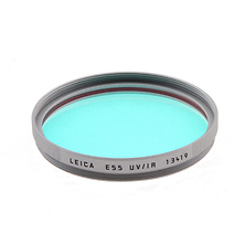 E55 UV Infrared Filter (Silver) Image 0