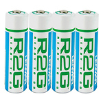 Pre-Charged R2G AA Rechargeable Batteries 2150mAh
