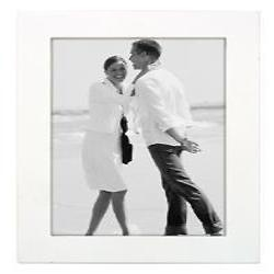 5X7 Wood Frame - White Image 0