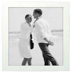 8X10 Wood Frame - White Image 0