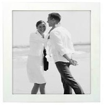 Malden 8X10 Wood Frame - White