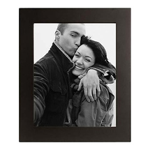 Malden 5X7 Wood Frame Wide - Black