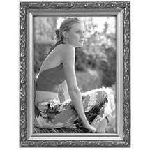 Malden 8x10 Bezel Ornamental Wood Frame - Silver