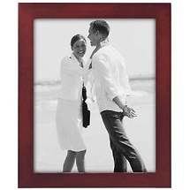 Malden Malden 8X10 Linear Rosewood Photo Frame