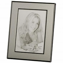 Malden Engravable Picture Frame 5 x 7 - Silver