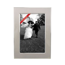 Silverplate Classic Frame 8 x 10 - Polished & Engraveable Image 0