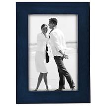 Malden 5 x 7 Wood Photo Frame - Blue