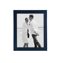 Malden 11 x 14 Linear Black Picture Frame