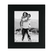 4 x 5 Linear Black Picture Frame Image 0