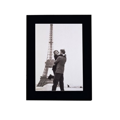 Linear Wood 8x10 Black Picture Frame Image 0
