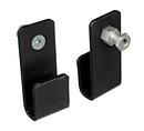 040 - Narrow U-Hook Glass Holders - Pair