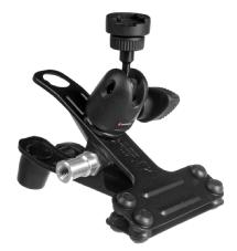 Manfrotto Justin Spring Clamp with Flash Shoe