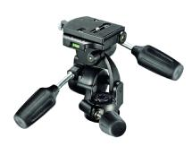 Manfrotto 808RC4 3-Way Standard Head with 410PL Quick Release Plate