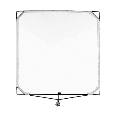 48x48 In. Solid Frame Scrim (Black Single) Image 0