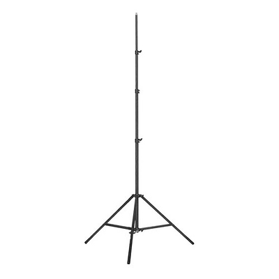 Medium Kit Stand with Triple Riser - Aluminum - Black Image 0