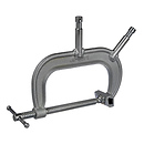 Matthews | 6 In. C-Clamp with 5/8 Baby Pins | 429596
