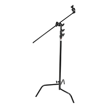 Hollywood 40in. Double Riser C Stand - Black Image 0