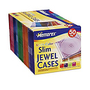 Slim CD Jewel Cases (50 Pack)