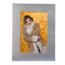 Neil Enterprises Inc. 4 x 6 Brushed Aluminum Photo Memory Box