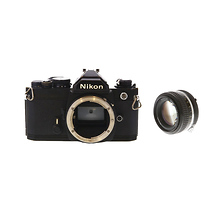 FM Camera Black w/ 50mm f/1.4 Lens - Pre-Owned Image 0