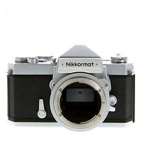 Nikkormat FTN 35mm Film Camera Body (Chrome) - Pre-Owned Image 0