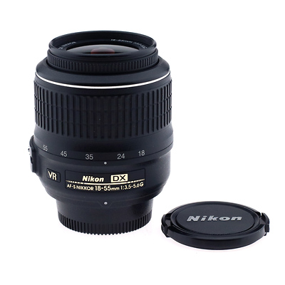 18-55mm f3.5-5.6G DX VR Lens Pre-Owned Image 0