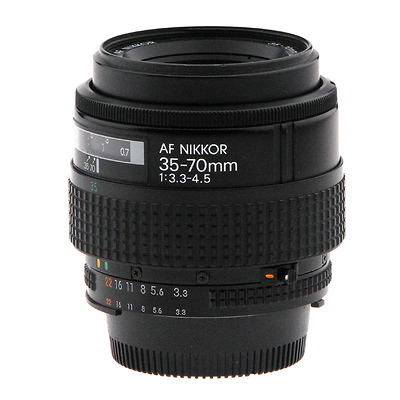 AF Zoom-Nikkor 35-70mm f/3.3-4.5 - Pre-Owned Image 0