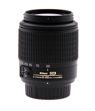AF-S DX Zoom-NIKKOR 55-200mm f/4-5.6G ED Lens - Pre-Owned Image 0