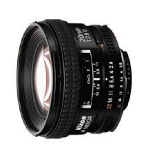 Nikon Super Wide Angle AF Nikkor 20mm f/2.8D Autofocus Lens