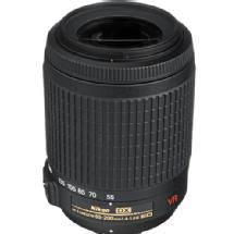 Nikon AF-S DX VR Zoom-Nikkor 55-200mm f/4.0-5.6G IF-ED Lens