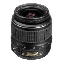 Nikon 18-55mm f/3.5-5.6G ED II AF-S DX Wide-Angle Zoom Lens (Manufacturer Reconditioned)