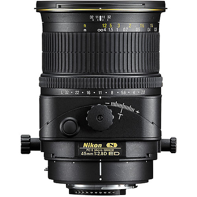 PC-E Micro Nikkor 45mm f/2.8D ED Manual Focus Lens Image 0