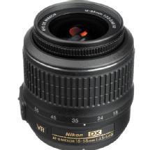 Nikon 18-55mm f/3.5-5.6G VR AF-S DX Nikkor Lens