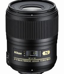 Nikon AF-S 60mm f/2.8G ED Macro Lens (Refurbished)