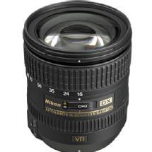 Nikon AF-S Nikkor 16-85mm f/3.5-5.6G ED VR DX Lens