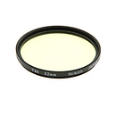 52mm Y44 Lite Yellow Color Conversion Glass Filter
