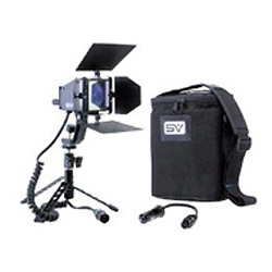 SV840 AC/DC Video Light Kit With Battery and Charger Image 0