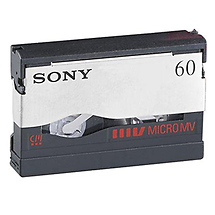 Sony 60-Minute Micro MV Video Cassette
